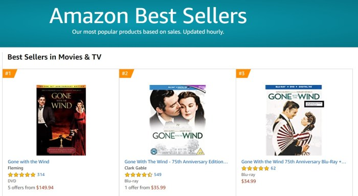 gone with the wind amazon best sellers