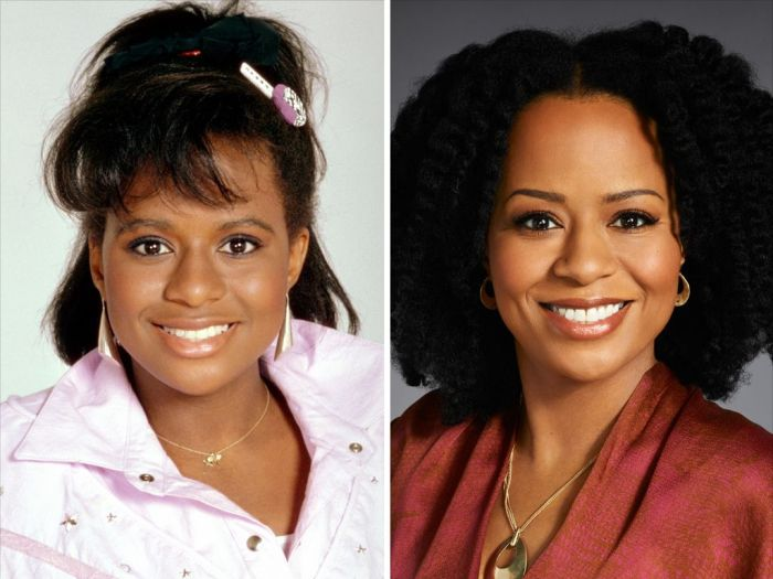 the cosby show kids then and now