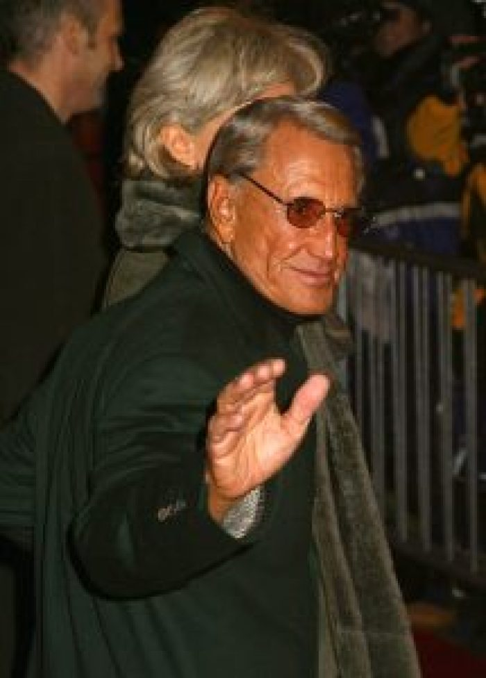 Roy Scheider in 2002 for the premiere of Gangs of New York