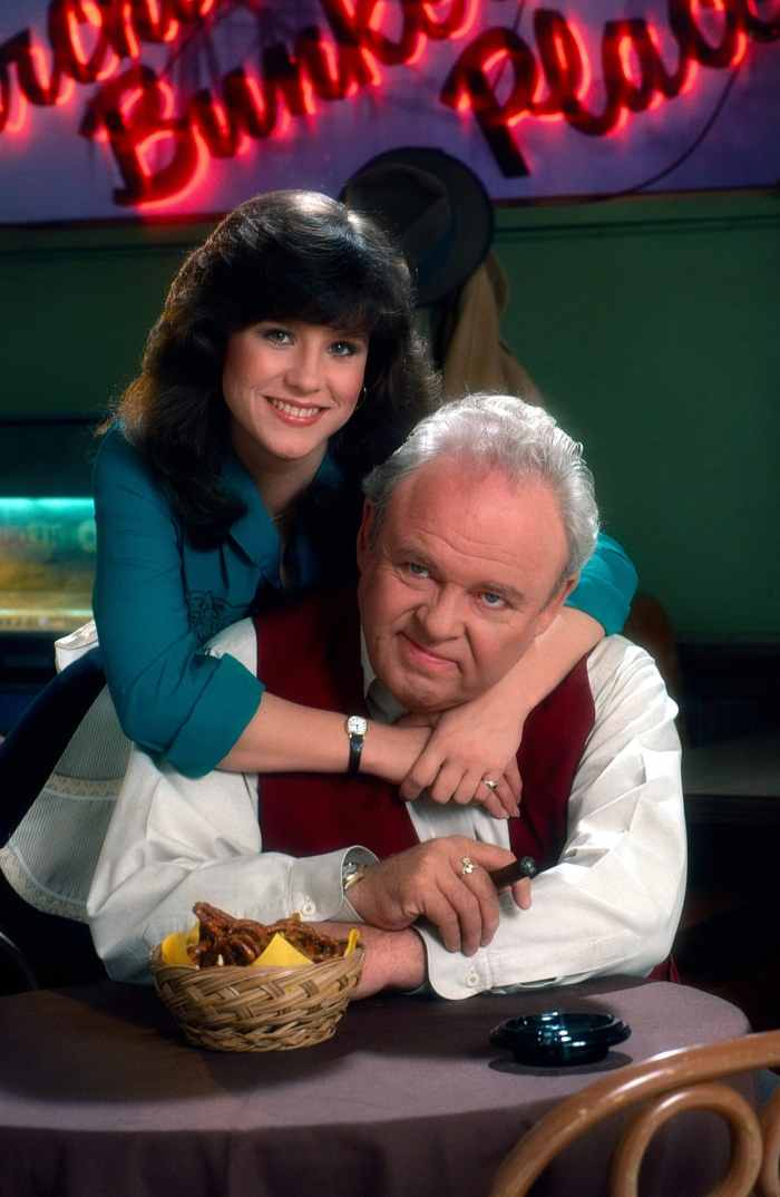 ARCHIE BUNKER'S PLACE, Denise Miller, Carroll O'Connor