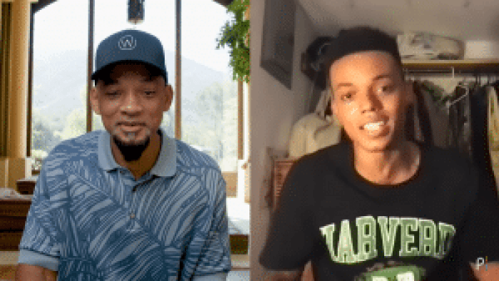 The original Will Smith announces the next generation to take the reins