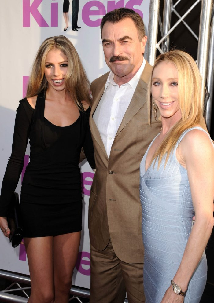 tom selleck and his family 2010