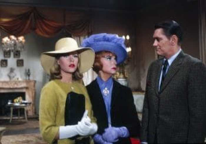 Endora and Darrin famously sparred...but Moorehead and York didn't at all