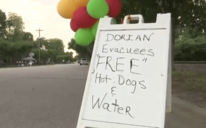 6-year-old uses money to help Dorian evacuees