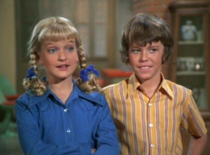 Cindy and Bobby Brady