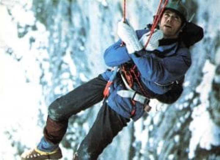 A routine procedure for special footage took a harrowing turn for two climbers