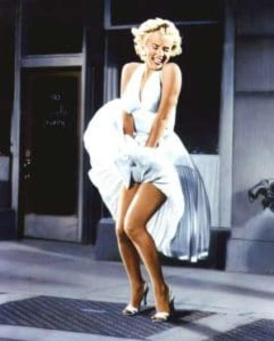 One of the most famous photos of the 1950s, starring Marilyn Monroe in The Seven Year Itch