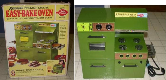 the evolution of the easy-bake oven