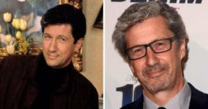 Charles Shaughnessy then and now