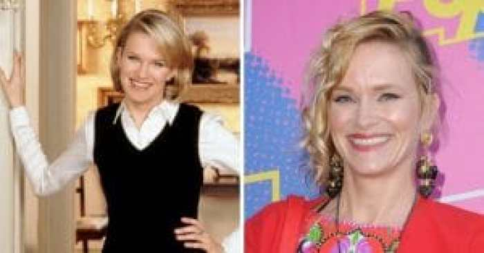 Nicholle Tom then and now