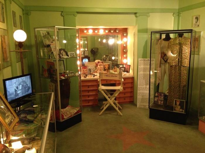 i love lucy exhibit the hollywood museum lucille ball