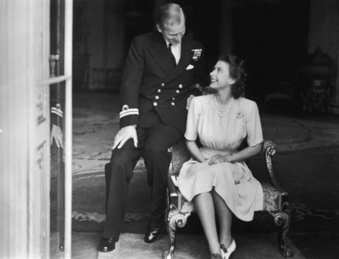 photo prince philip with queen elizabeth II 99 years old