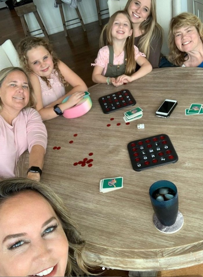 erin murphy and family playing games