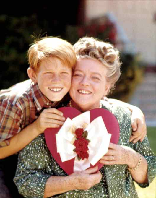 ANDY GRIFFITH SHOW, Frances Bavier, Ron Howard, 1960-1968