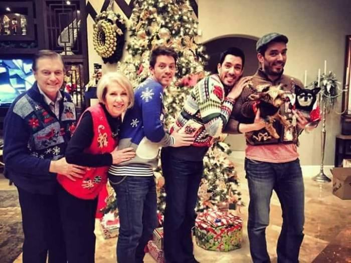 the property brothers christmas family