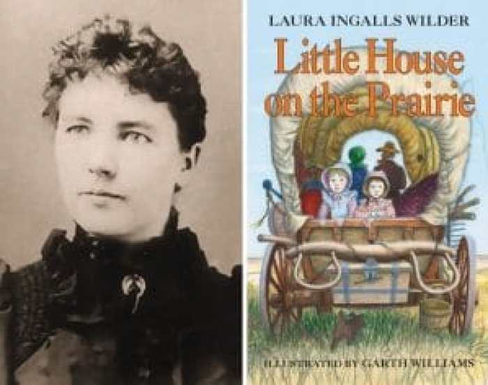 As TV series, Little House on the Prairie took basic inspiration from facts and dates from Laura Ingalls Wilder's life