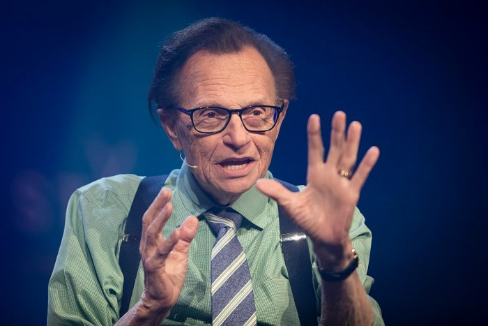larry king talking