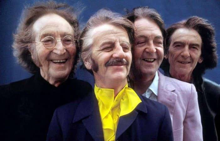 the beatles faceapp