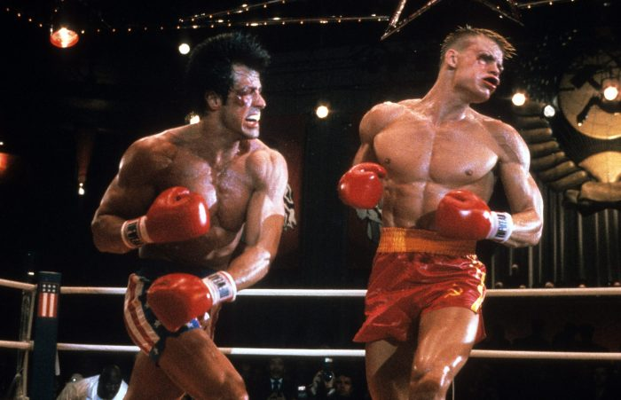 rocky iv fight between rocky and drago