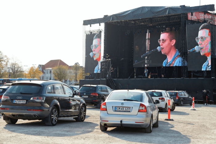 drive-in concerts are a thing now amid the coronavirus