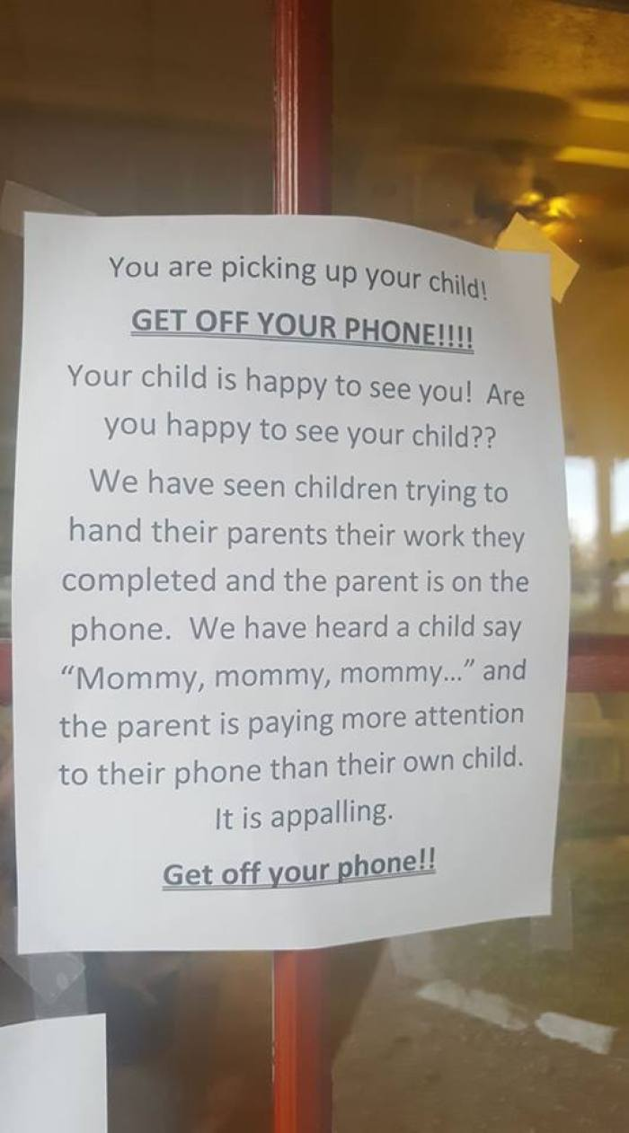 daycare sign