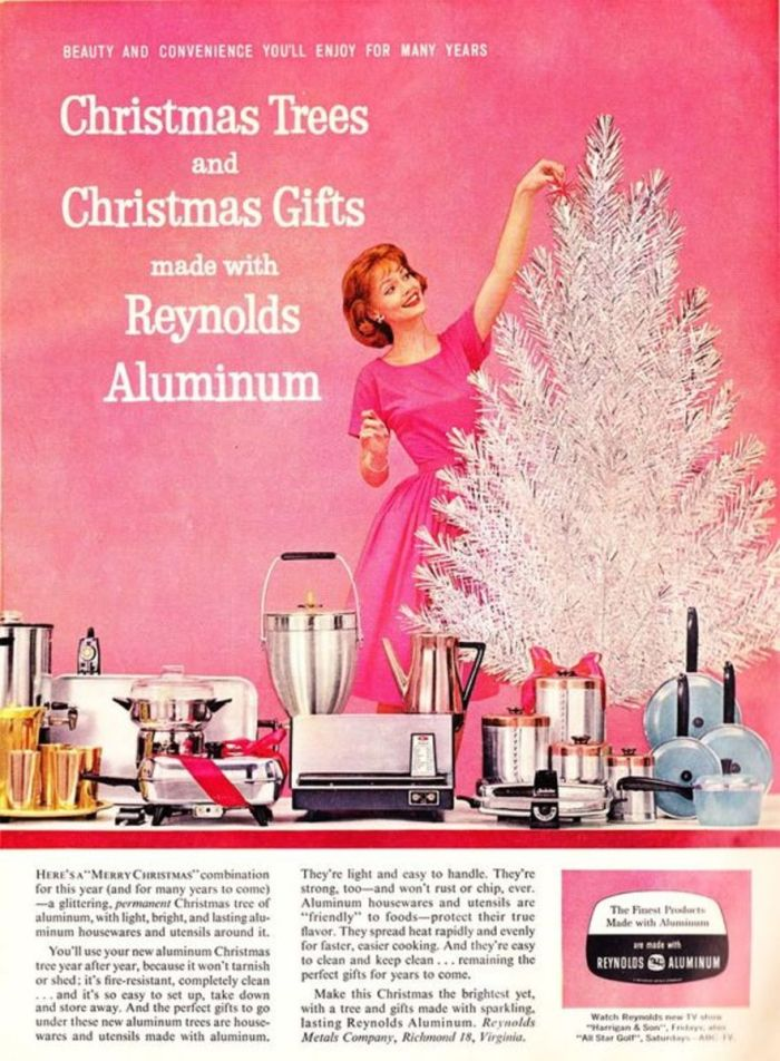 Why Aluminum Christmas Trees Were So Popular In 1950s America