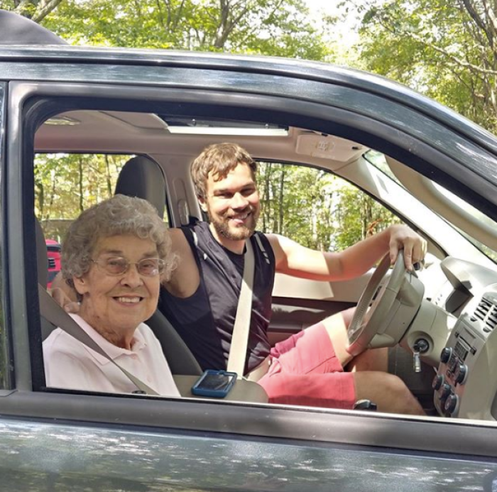 grandson takes grandma to see all national parks