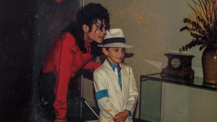 leaving neverland michael jackson pictured with a young boy
