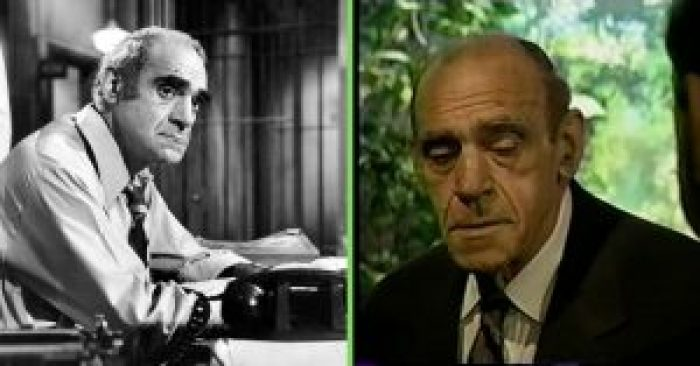 Abe Vigoda's deadpan delivery was in contrast to his natural comedy