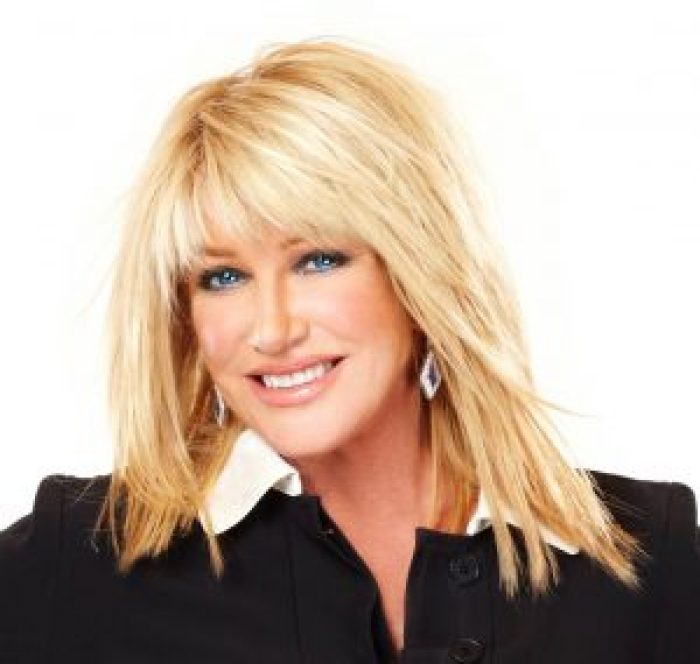 Suzanne Somers' livestream ran all through the confrontation with a stranger on her property