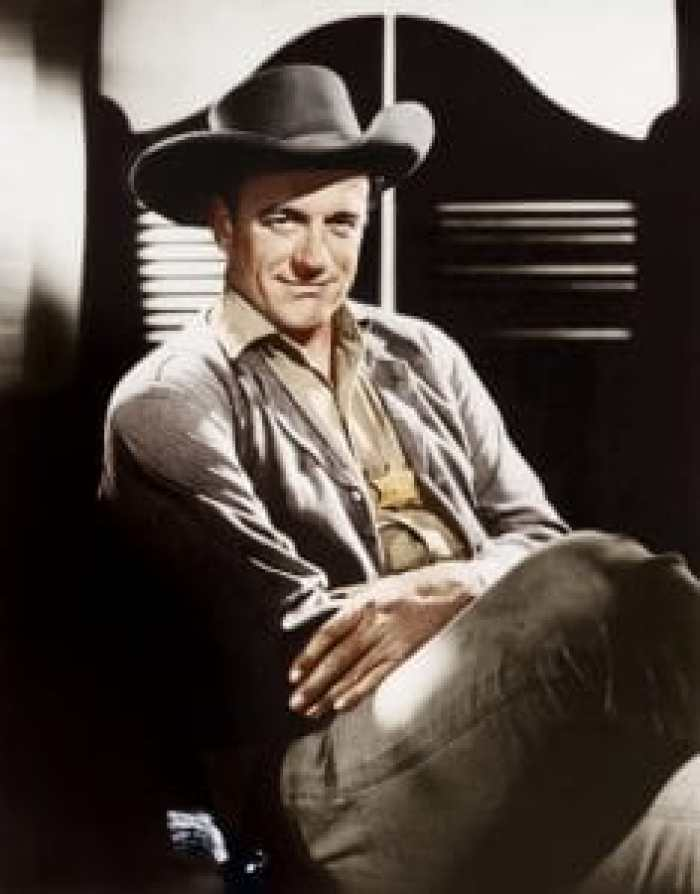 James Arness in Gunsmoke