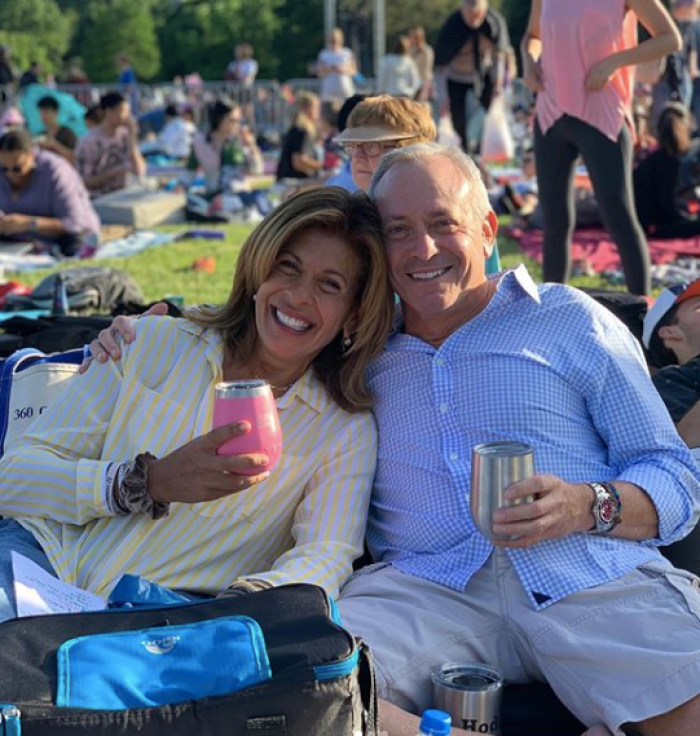 "hoda kotb recalls when joel schiffman said ""i love you"""