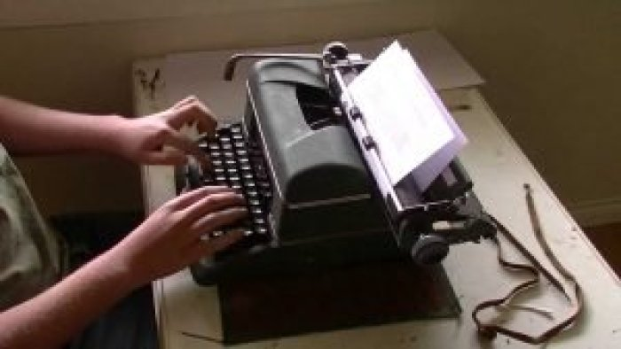 The typewriter and its manufacturers first introduced the concept of typing classes