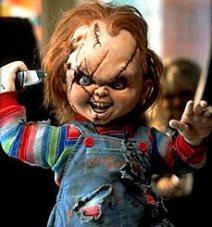 Gruselpuppe Horror Puppe