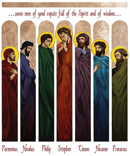 Image result for seven deacons