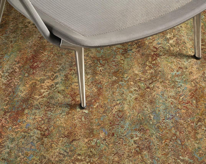Linoleum flooring celebrates years retrofit