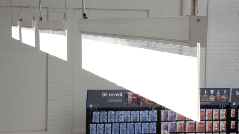 GE's Lumination EL Series LED Suspended Luminaire