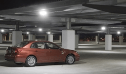 Improving the light quality in a parking facility enables people to better identify pedestrians, other vehicles and obstructions, helping them feel safer.
