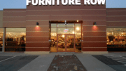 Furniture Row Companies chose aluminum composite panels for a modern, sleek design that would update and rebrand several of its locations.
