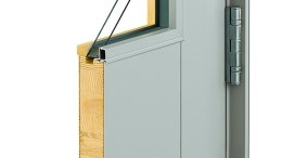 Andersen Architectural Commercial Entry Door Corner Section
