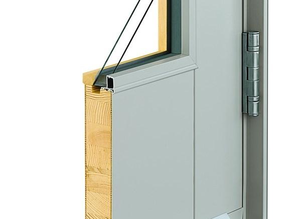 Andersen Architectural Commercial Entry Door Corner Section