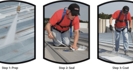 Firestone Building Products' Fluid Applied Metal Roofing Systems
