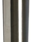 Access Fixtures' stainless-steel bollard light with type 5 optics