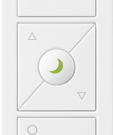 Lutron's Pico wireless remote control with nightlight