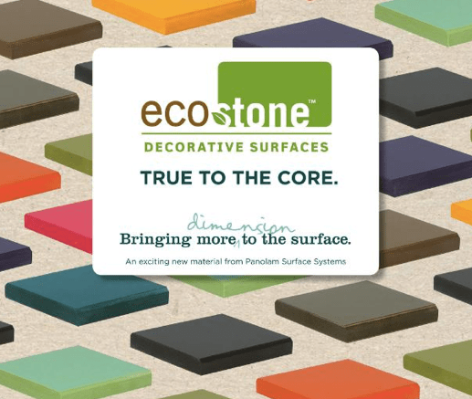 Panolam Surface Systems' EcoStone Decorative Surfaces