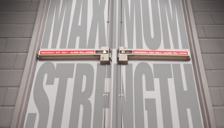Detex Corp. offers a new maximum security life-safety door hardware system designed for retail.