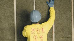 Thermafiber's UltraBatt, a new residential and light commercial insulation batt.