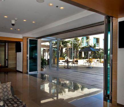 LaCantina Doors offer folding doors that bring the outdoors inside.