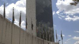 The United Nations Secretariat Building now features 5,000 motorized bl