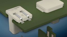 TE Connectivity's Inverted Thru Board (ITB) Card Edge and Poke-in Platform Connectors